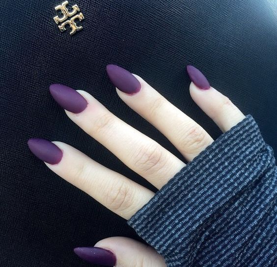 I love this color ! Are you looking for autumn fall nail colors design for this autumn? See our collection full of cute autumn fall nail matte colors design ideas and get inspired!