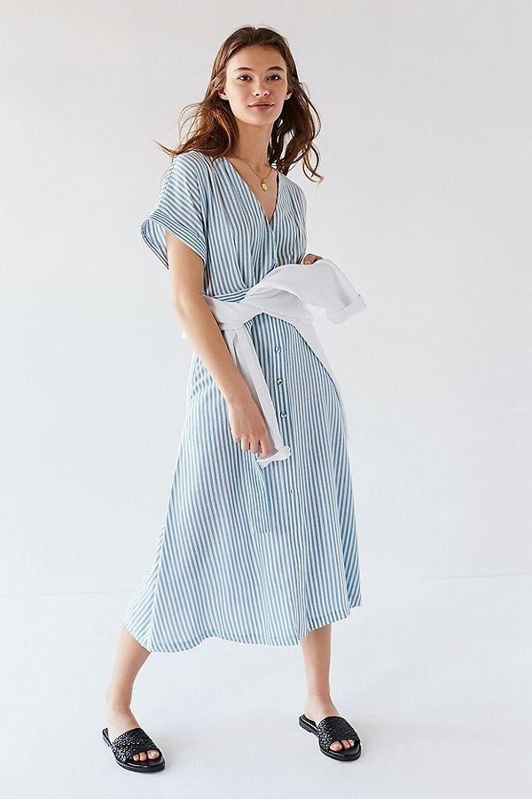Simple Button Down Dress