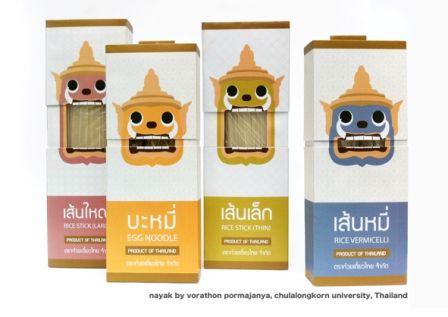 Thai noodle packaging