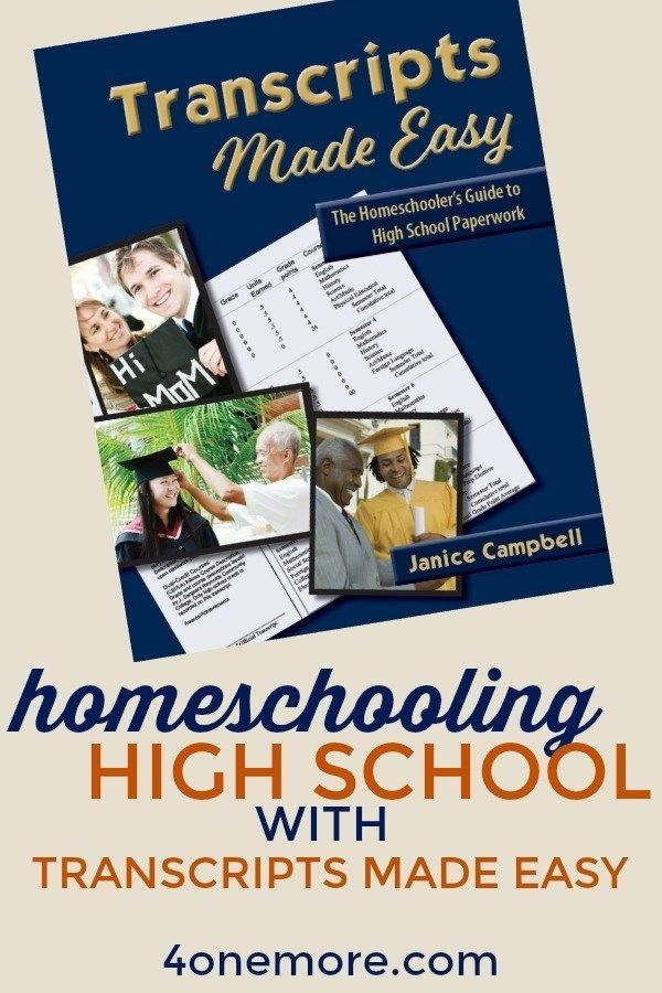 Homeschooling Excessive Faculty with Transcripts Made Simple (Overview)