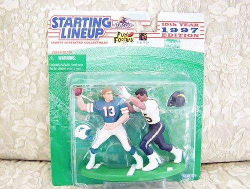 1997 NFL Starting Lineup Collector's Club Exclusive - Dan Marino & Junior Seau