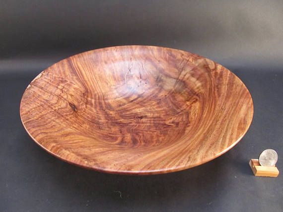Bowl Honduran Rosewood Wood Stunning Art Work Hand Turned Wooden Wood Turning Wood Turning Projects Wood Platter