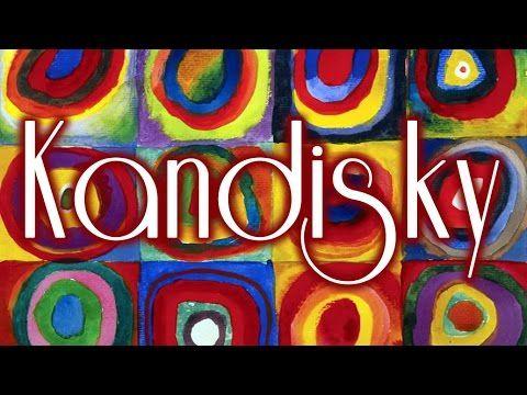 25 Cuadros de Kandinsky con música de Wagner HD