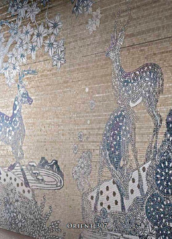 Sicis Orientale Collection Sicis Mosaic Tile Interiors