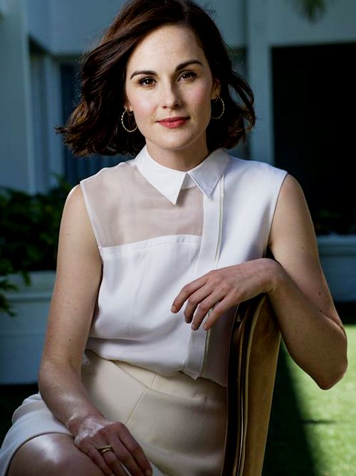 Michelle Dockery photographed by Robert Hanashiro for USA TODAY