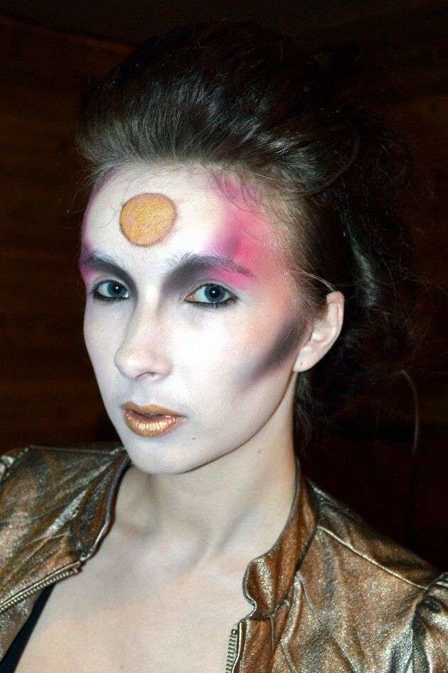 David Bowie inspired makeup by me :) imogenmaxwell.com ...