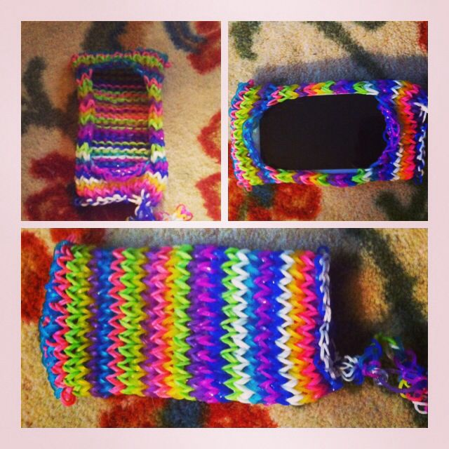 234 Best Images About Rainbow Loom Purse On Pinterest