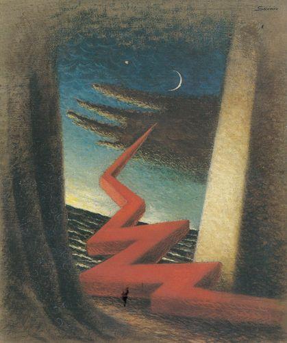 Savinio_Fin de temepete (1931)