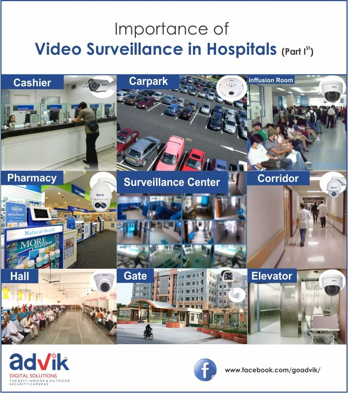Importance of #VideoSurveillance in #Hospitals (Part I)!!!  In this two part series, we are going to discuss the importance of #video surveillance in various aspects of our #health care systems like hospitals.Read more at:http://bit.ly/2pw7yNc