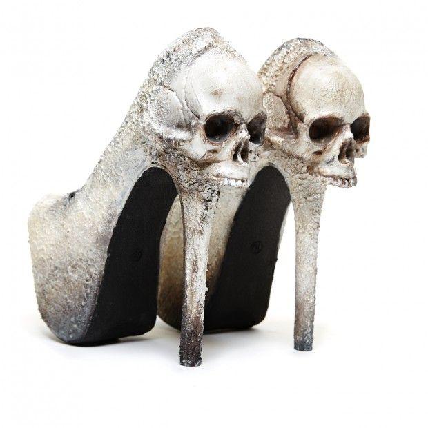 Zombie Peep Show 'Purgatory', bone, pump