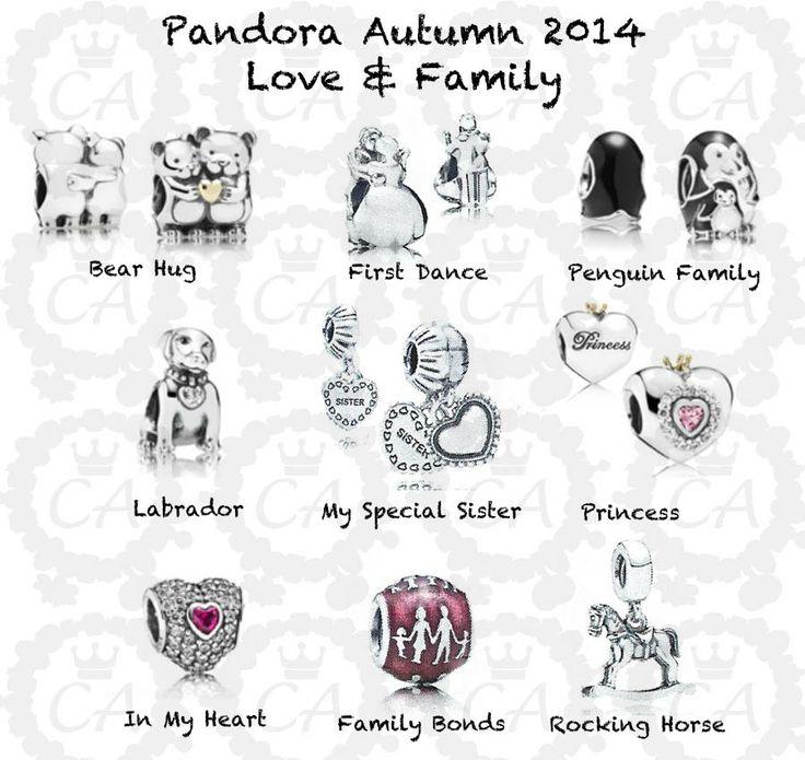 Charms Addict | Pandora Autumn 2014 Complete Preview