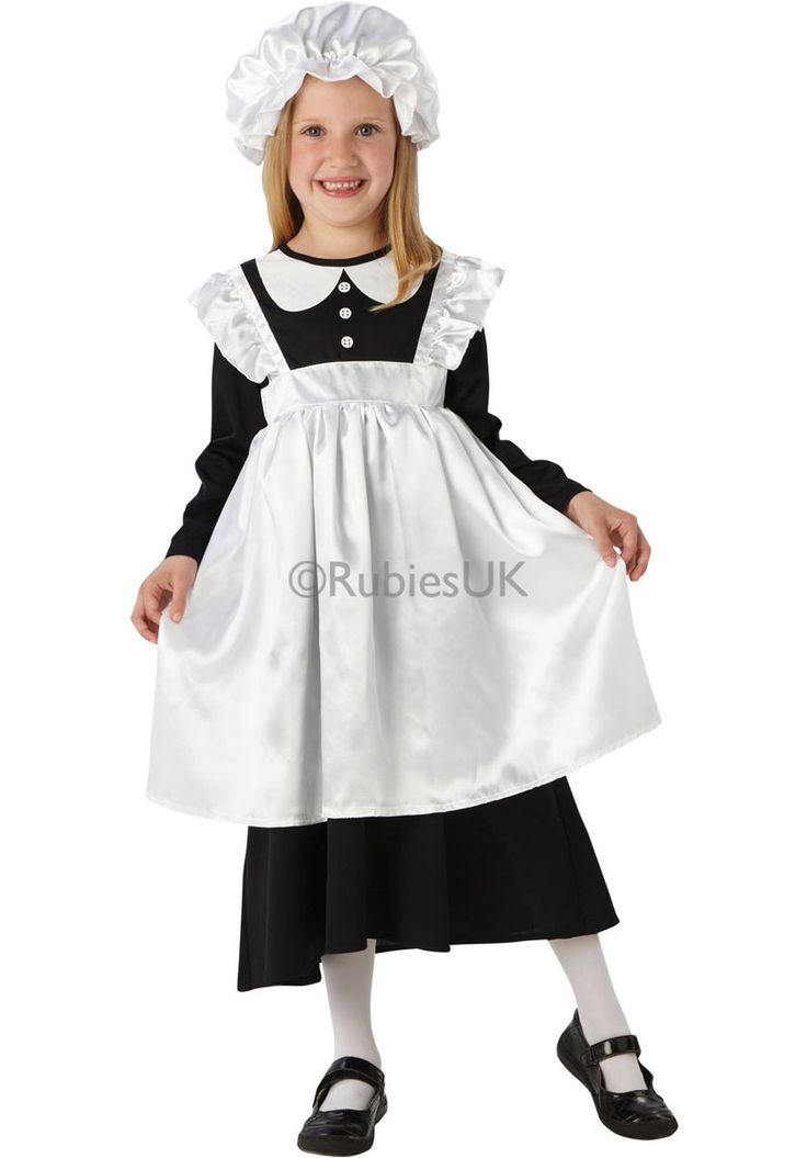 Kids Victorian Maid Costume, Victorian Girl Costume - General Kids Costumes at Escapade™ UK - Escapade Fancy Dress on Twitter: @Escapade_UK