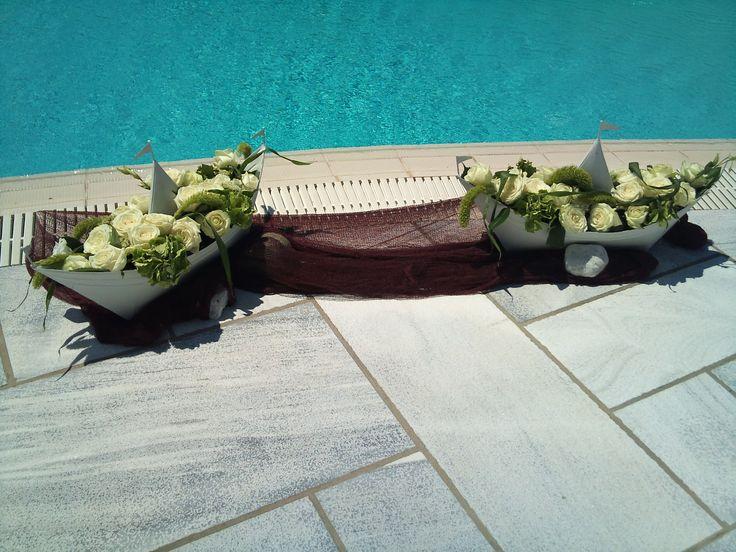 baptism in Island Tinos -Greece   weddings-eents-decorations Flowers Papadakis  Tel  00302109426971