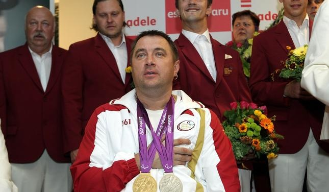 Latvia gold and silver