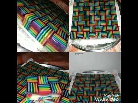 Puding Tikar Rainbow by AynunWL