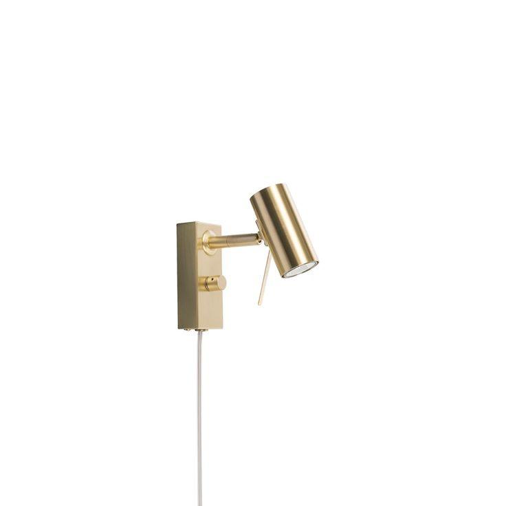 Belid - V 5003 Cato Vägglampa Mässing