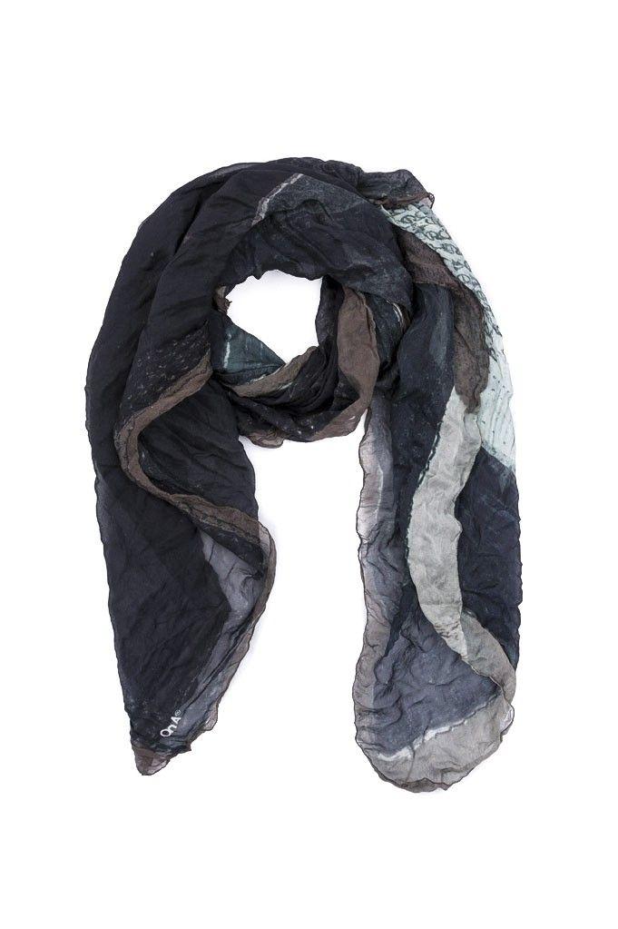 Pañuelo ONA Vainilla - Negro | $229,500.00