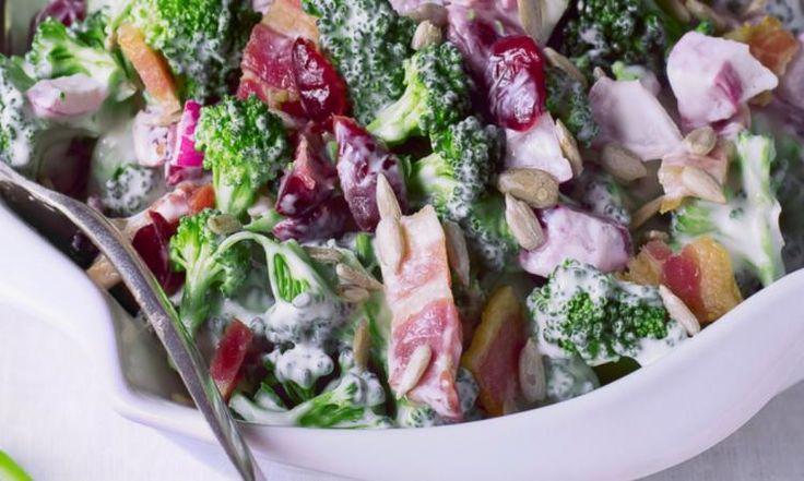 Une salade de brocoli à faire ABSOLUMENT durant la saison froide.