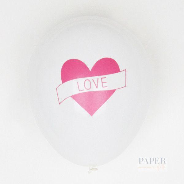5 Love Balloons