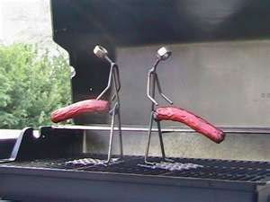 Hot dog holder cookers for the grill.  Steel man erection. Dun4Me is the marketplace for custom made items built to your exact specifications by talented makers. Get bids for free, no obligation!