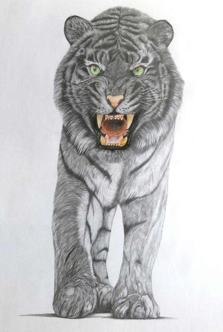 "Sajad Nabiyar, ""Plight of the King"", pencil on paper"