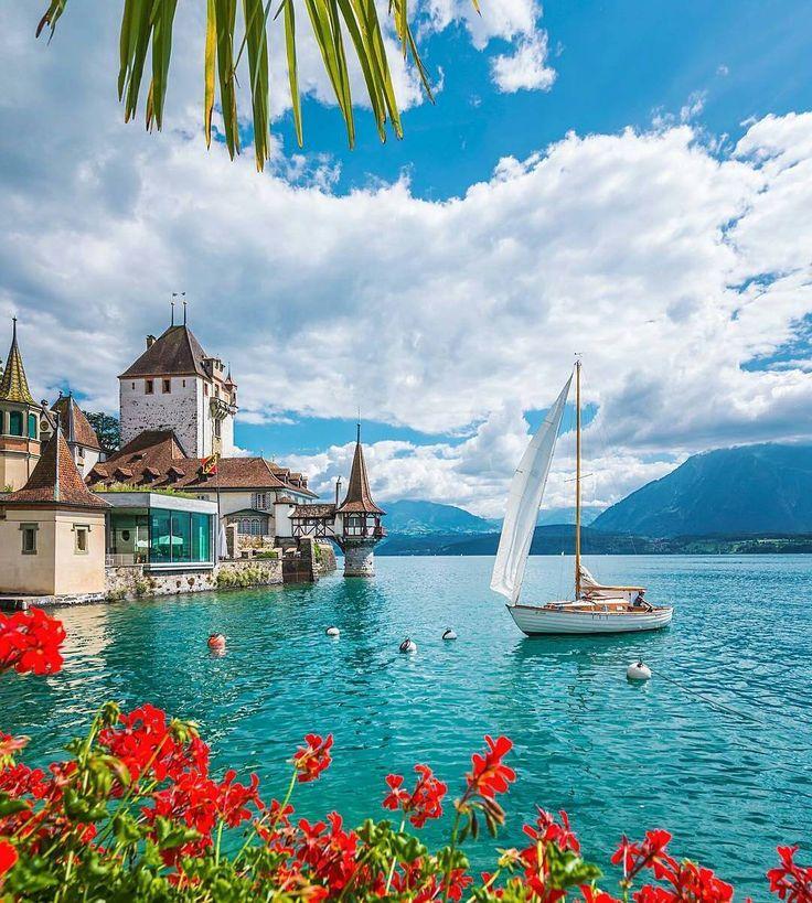 349 Best Lake Thun Images On Pinterest