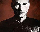 Captain Picard, heck yeah