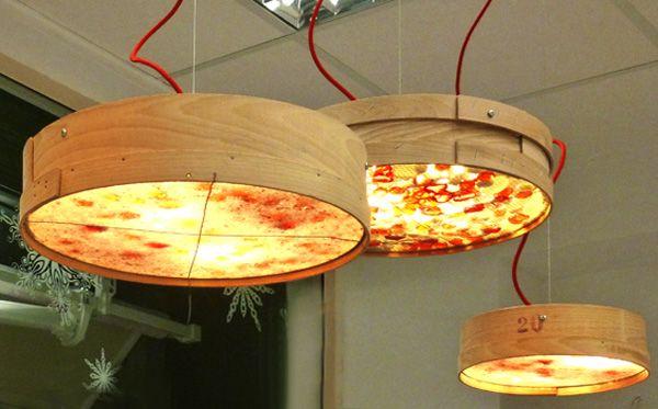 Ιδέες κρεμαστά φωτιστικά κόσκινο