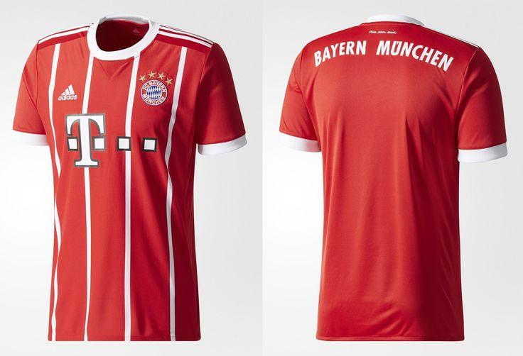 Camisas do Bayern de Munique 2017-2018 Adidas | Mantos do Futebol Camisas de Futebol