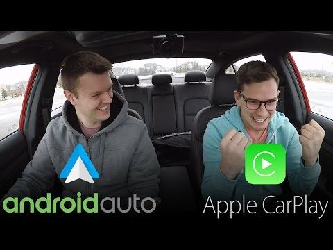 Watch Android Auto and Apple CarPlay face off in real-world navigation battle
