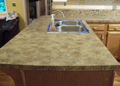 Best Diy Paint Countertops Images Pinterest Furniture Bathroom And Bricolage