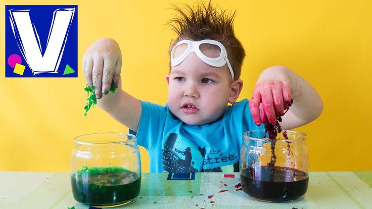 Полимерные черви. Сумасшедшие ученые долго изучали полимеры и пришли к невероятному выводу: из полимеров можно делать червей! Разноцветных, длинных, скользки...