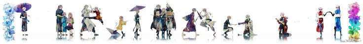 Tags: Gin Tama, Pixiv, Sakata Gintoki, Takasugi Shinsuke, Kagura (Gin Tama), Kamui (Gin Tama), Umibouzu (Gin Tama), Abuto, Yato Clan, 2 Year...