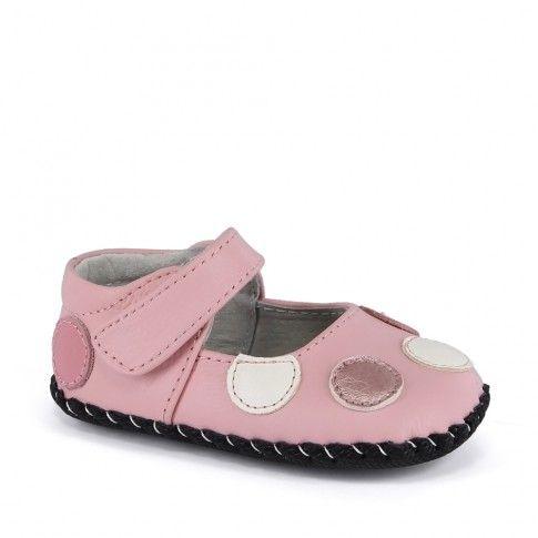 Incaltaminte bebelusi Giselle Mid Pink - marca pediped.