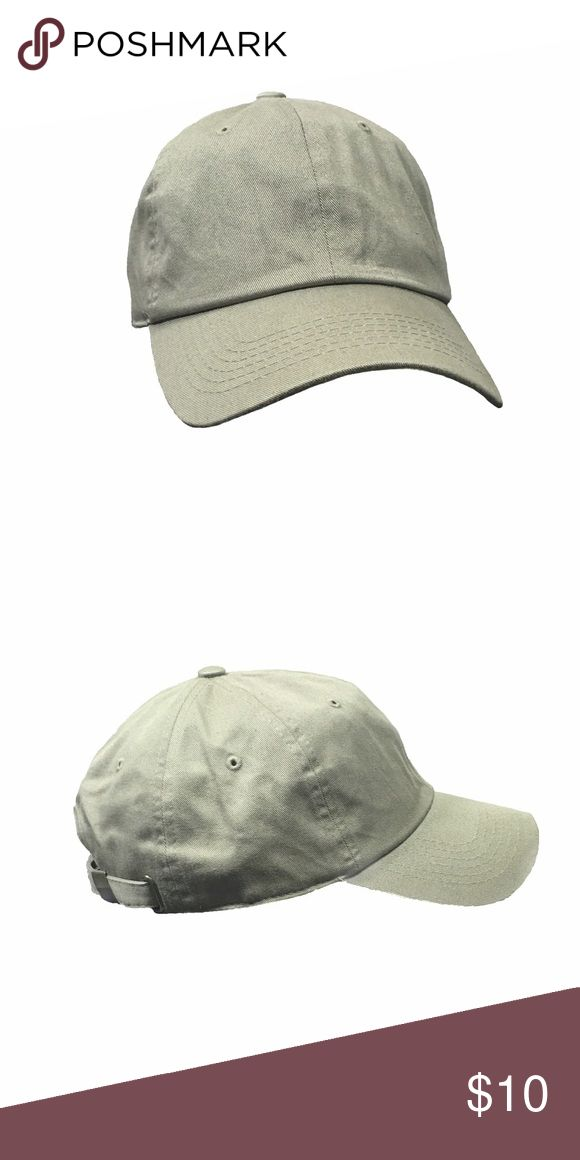 Selling this Blank Baseball Cap, Olive on Poshmark! My username is: soma_clothing. #shopmycloset #poshmark #fashion #shopping #style #forsale #Other #men #street #woman #cap #blank #baseball