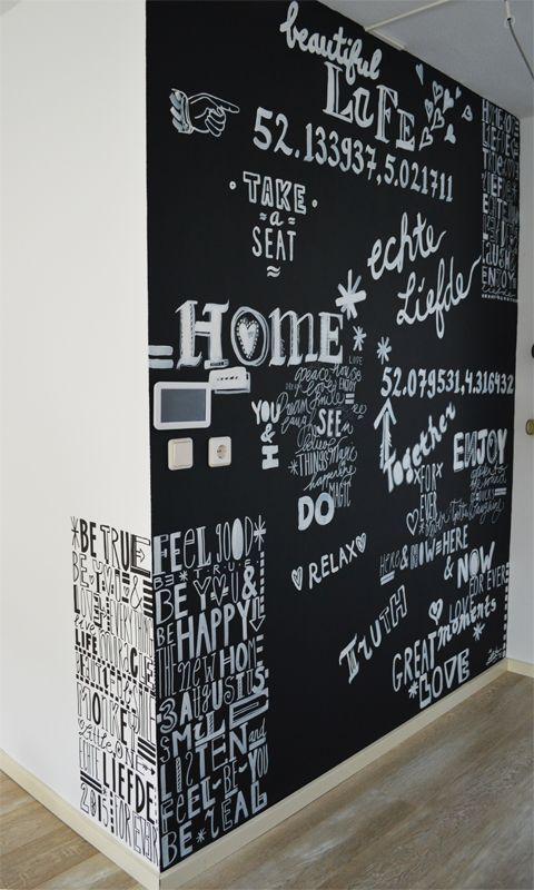 Magnetisch Krijtbord Keuken : Keuken Schoolbord Muren, Ingelijste Krijtbord Wanden en Magnetisch