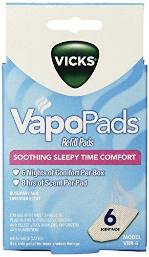 Vicks Sleepytime Waterless Vaporizer Scent Pads - http://darrenblogs.com/2016/01/vicks-sleepytime-waterless-vaporizer-scent-pads/