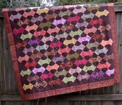 Bow Tie Quilt Top Finished Tie Quilt Quilt Top And