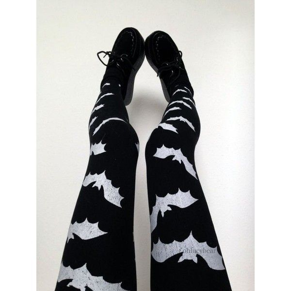 12 Ways to Rock Pastel Goth Leggings ❤ liked on Polyvore featuring pants, leggings, checkered leggings, skeleton leggings, skull leggings, black cross leggings and gothic pants