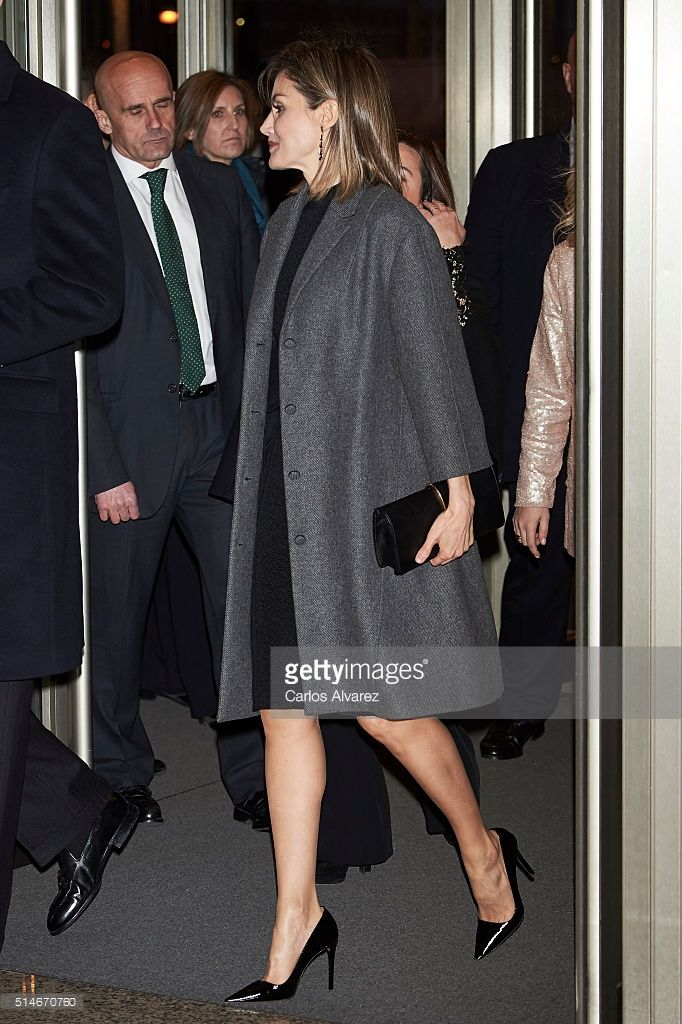 Queen Letizia of Spain attends 'In Memorian' concert at the National Auditorium on March 10, 2016 in Madrid, Spain.