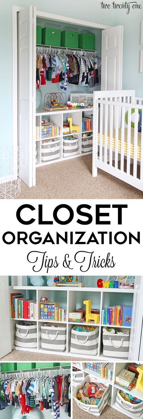 Closet organization tips and tricks! GREAT ideas for home organization!
