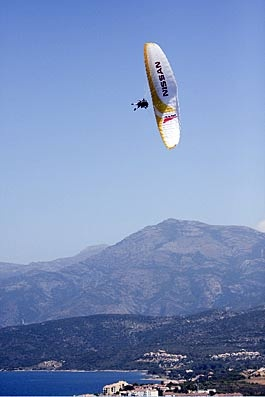 Altore paragliding and adventure sports in Corsica
