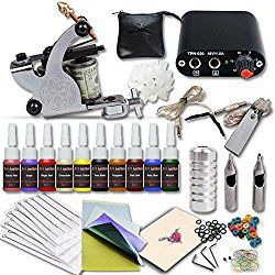 Best Tattoo Kits 2018 for personal or professional use