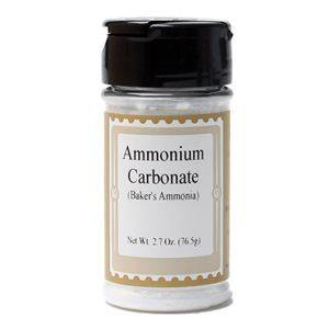 Baker's Ammonia (Ammonium Carbonate)