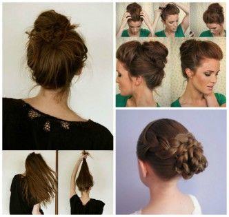 13 simple bun hairstyles- wonderfuldiy