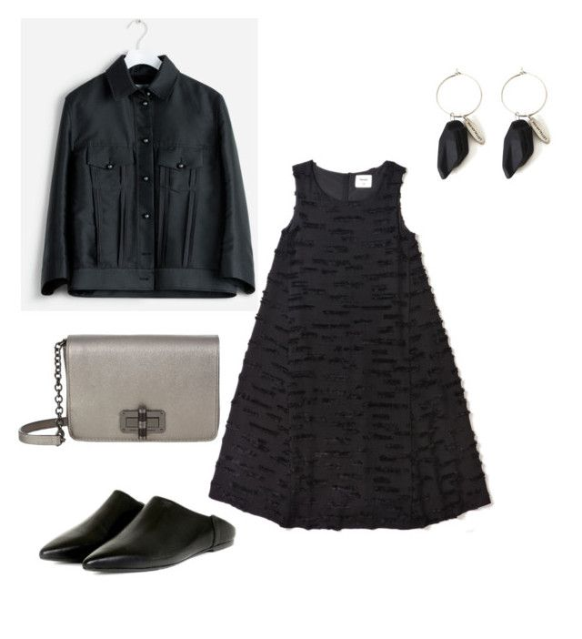 Black and silver by kirsti-salonen on Polyvore featuring polyvore, fashion, style and clothing