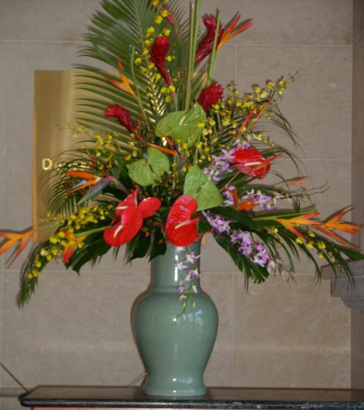 Summer tropical florals