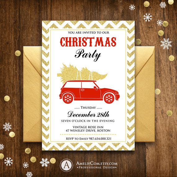 The 25+ best Christmas party invitation template ideas on - christmas menu word template