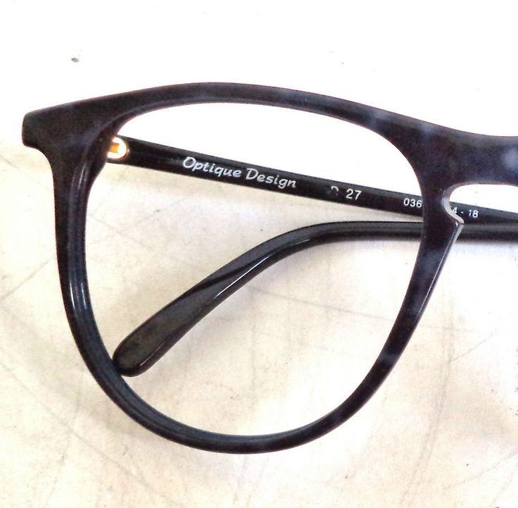 90s NOS Oversized Blue Optique ITALY Round Oversized Peck Unisex sunglasses new | eBay