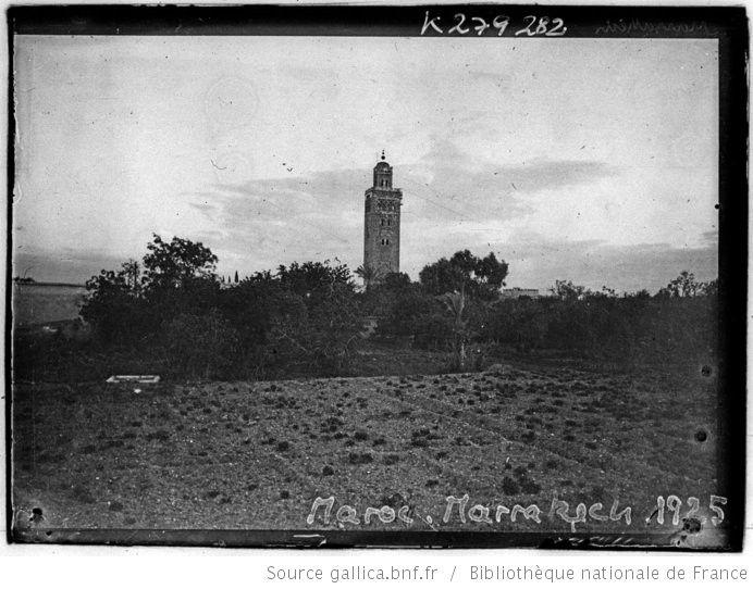 [Recueil. Maroc, voyage du président de la république française M. Alexandre Millerand du 05 au 15 avril 1922 et diverses vues de villes du Maroc en 1925] : [lot de photographies de presse] / [Meurisse ?] - 16